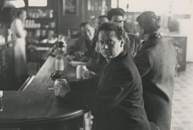 Dylan Thomas at White Horse Tavern by Bunny Adler1 1917x1940 638x429