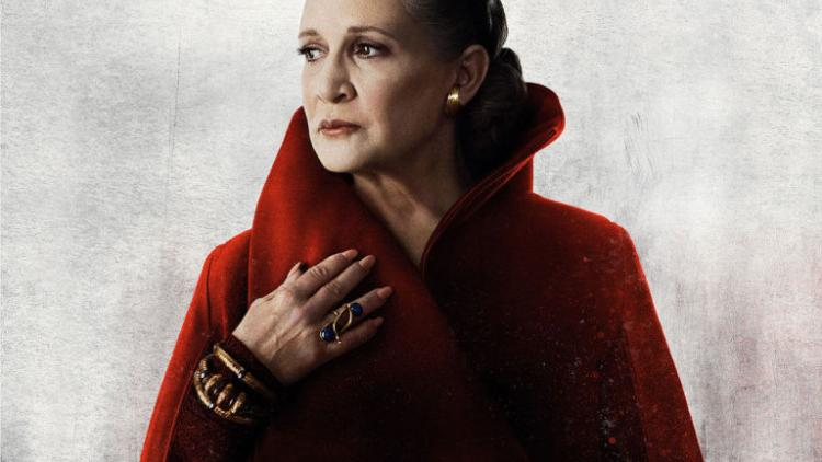 gallery 1513250806 carrie fisher star wars the last jedi poster