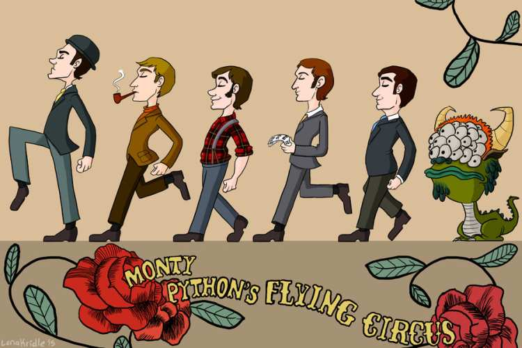 monty python s flying circus by lkanimator d8ht8fh