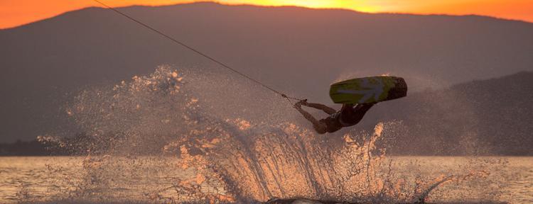 Skijanje na vodi impuls