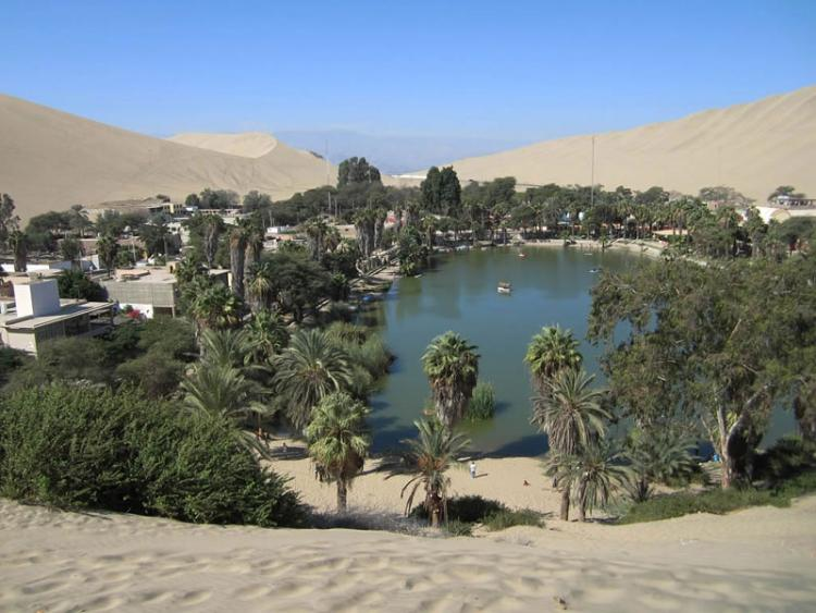 huacachina village desert oasis in peru 11