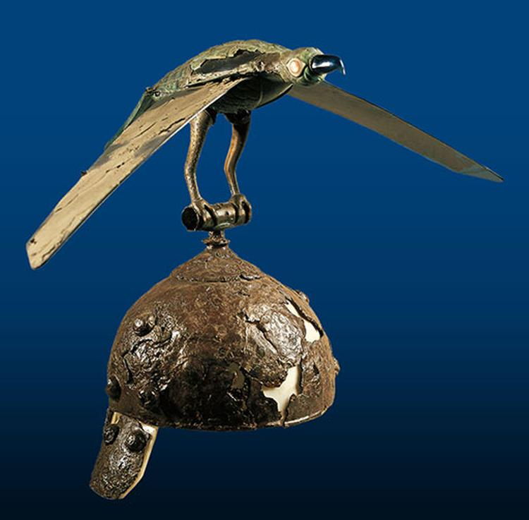 kaciga sa pticom rumunjska