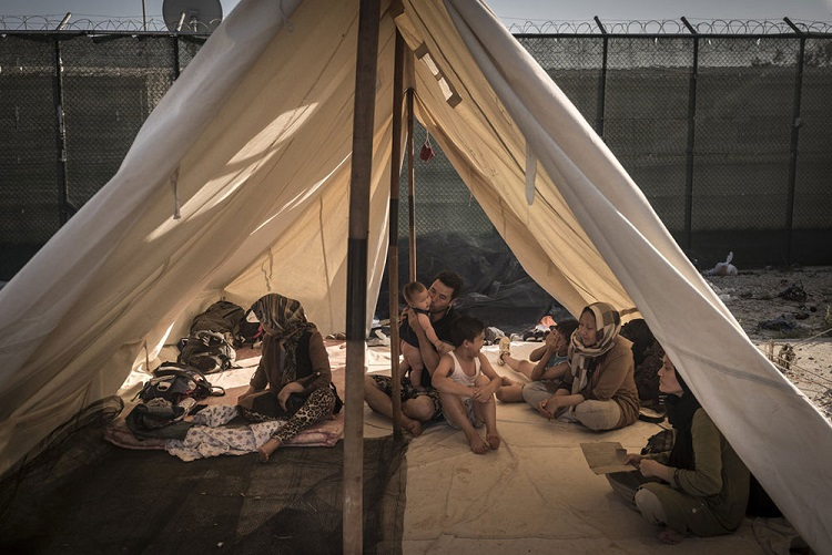 Lezbos foto Sergey Ponomarev za The New York Times