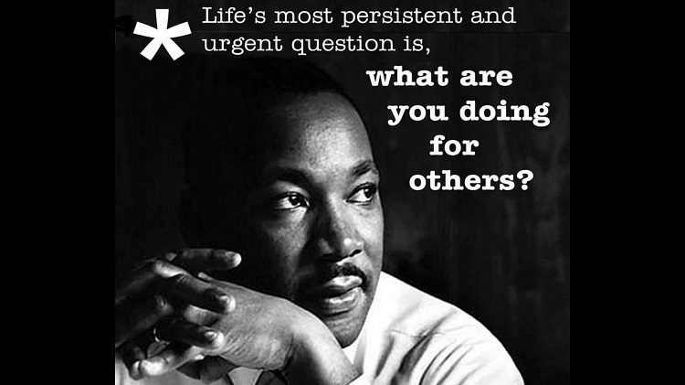 Remembering Dr. King today and thinking about all the opportunities we have in our wonderful community to volunteer