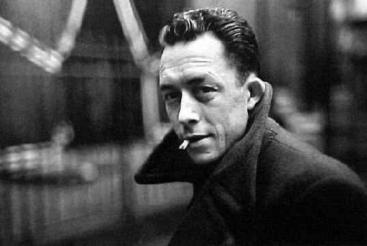 the famous pose of albert camus1