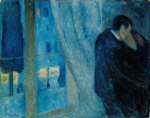 09 munch edvard kiss by the window 1892