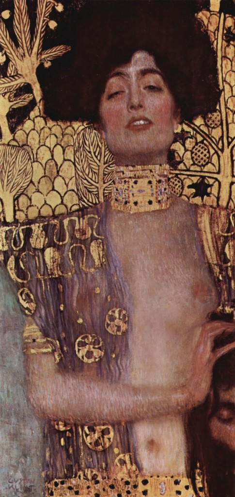 gustav klimt judith with the head of holofernes 485x1024