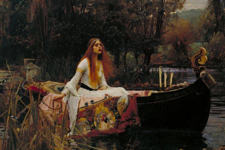 prerafaeliti the lady of shalott