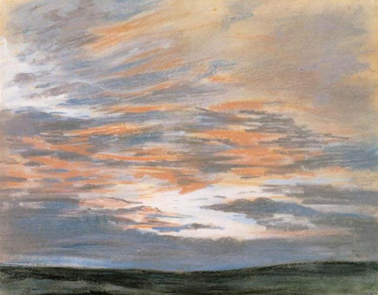 study of the sky at sunset 18491halfhd