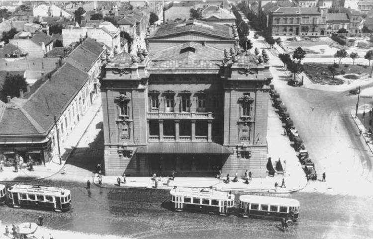 Zgrada narodnog pozorista u Beogradu