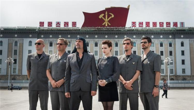 9laibach north korea