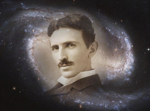 If you wish to understand the Universe think of energy frequency and vibration. Nikola Tesla