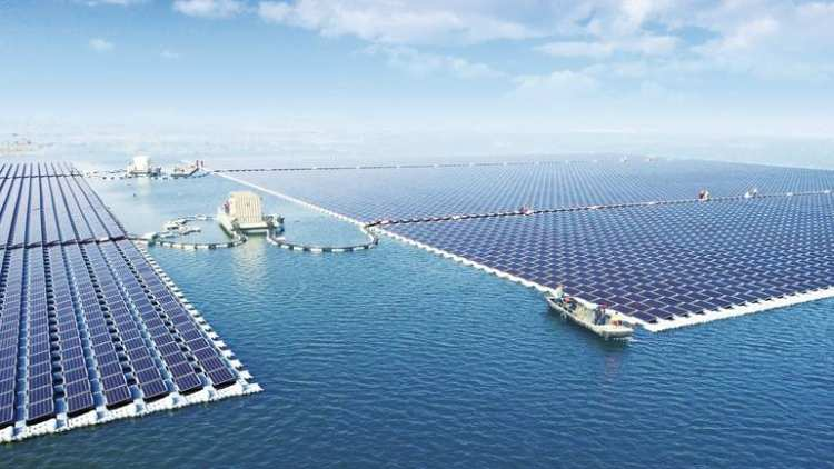 40mv floating pv power plant