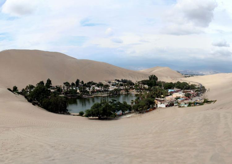 huacachina village desert oasis in peru 3